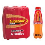 Lucozade Energy Original 6 x 380ml Multipack