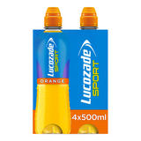 Lucozade Sport Orange 4 x 500ml