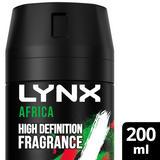 Lynx Africa Body Spray Deodorant 200 ml