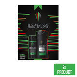 Lynx Africa Duo Gift Set 2 piece