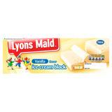Lyons Maid Vanilla Flavour Ice Cream Block 1 Litre