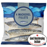 Iceland 4 Mackerel Fillets 400g