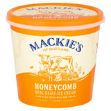 Mackie's of Scotland Honeycomb Real Dairy Ice Cream 1 Litre