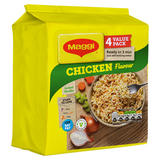 MAGGI 3 Minute Instant Noodles Chicken Flavour 4 x 59.2g
