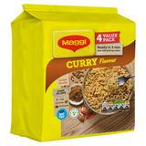 MAGGI 3 Minute Instant Noodles Curry Flavour 4 x 59.2g