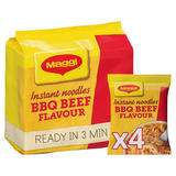 Maggi Instant Noodles BBQ Beef Flavour 4 x 59g