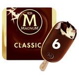 Magnum Classic Ice Cream 6 x 110 ml