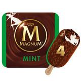 Magnum Mint Ice Cream 4 x 100 ml