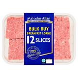 Malcolm Allan Bulk Buy Breakfast Lorne 12 Slices 700g