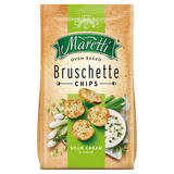 Maretti Oven Baked Bruschette Chips Sour Cream and Onion 150g