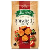 Maretti Oven Baked Bruschette Chips Tomato, Olives & Oregano 150g