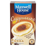 Maxwell House Classic Roast Cappuccino x8