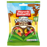 Maynards Bassetts Soft Jellies Wild Safari Sweets Bag 160g