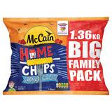 McCain Home Chips Crinkle 1.36kg