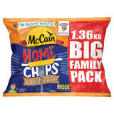 McCain Home Chips Straight 1.36kg