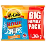 McCain Lighter Home Chips Straight 1.36kg