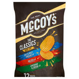 McCoy's Classic Variety Multipack Crisps 12 Pack