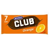 McVitie's Club Orange 7 x 22g (154g)
