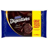 McVitie's Digestives Dark Chocolate 2 x 300g