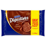 McVitie's Digestives Milk Chocolate 2 x 300g