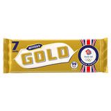 McVitie's Gold Caramel Flavoured Biscuits Bars 7 pack 124g