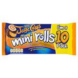 McVitie's Jaffa Cakes 10 Mini Rolls