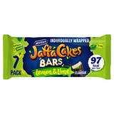 McVitie's Jaffa Cakes 7 Lemon & Lime Flavour Cake Bars