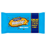 McVitie's Milk Chocolate HobNobs Twin 2 x 300g