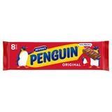 McVitie's Penguin Original 8 x 24.6g (196.8g)