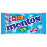 Mentos Mint Chewy Dragees 4 x 38g (152g)