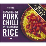 Mexican Style Pork Chilli with Sunshine Rice 400g