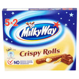 Milky Way Crispy Rolls Chocolate Multipack 5 x 25g