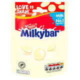Milkybar White Chocolate Giant Buttons Sharing Bag 80g