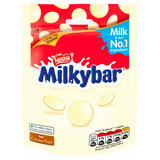 Milkybar White Chocolate Giant Buttons Sharing Pouch 80g