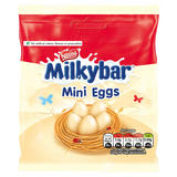 Milkybar White Chocolate Mini Eggs Pouch 80g