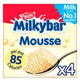 Milkybar White Chocolate Mousse 4x55g