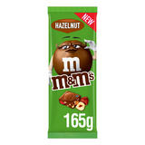 M&M's Hazelnut Chocolate Bar 165g