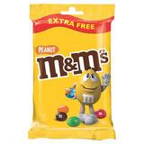 M&M's Peanut Chocolate Extra Free Treat Bag 100g
