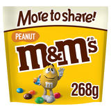M&M's Peanut Chocolate More to Share Pouch 268g