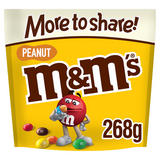 M&M's Peanut Chocolate More to Share Pouch Bag 268g