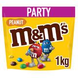 M&M's Peanut Chocolate Party Pouch 1kg