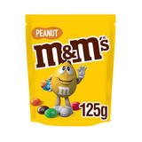 M&M's Peanut Chocolate Pouch Bag 125g
