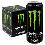 Monster Energy Drink 4 x 500ml