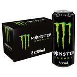 Monster Energy Drink 8 x 500ml