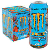 Monster Mango Loco Energy Drink 4 x 500ml