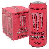 Monster Pipeline Punch Energy Drink 4 x 500ml