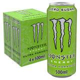 Monster Ultra Paradise Energy Drink 4 x 500ml