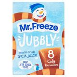 Mr. Freeze Jubbly Cola Ice Lollies 8 x 62ml