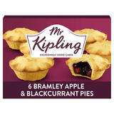 Mr Kipling 6 Bramley Apple & Blackcurrant Pies