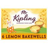Mr Kipling 6 Lemon Bakewells